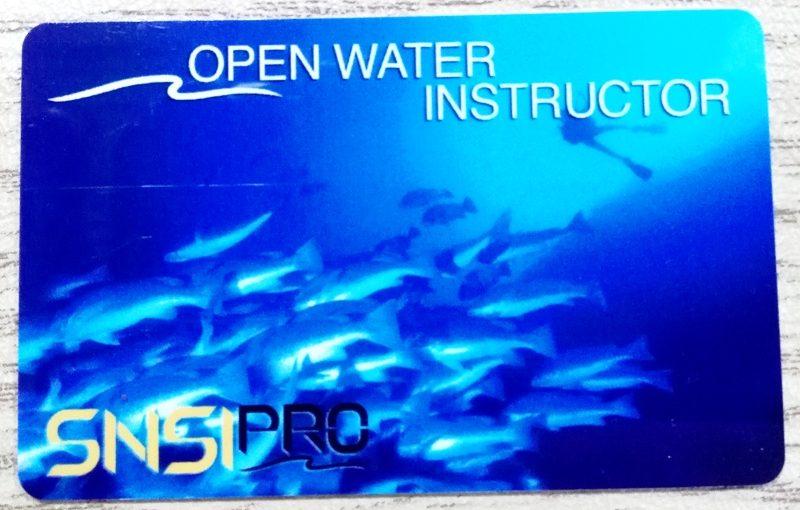 Наш первый SNSI инструктор!!!